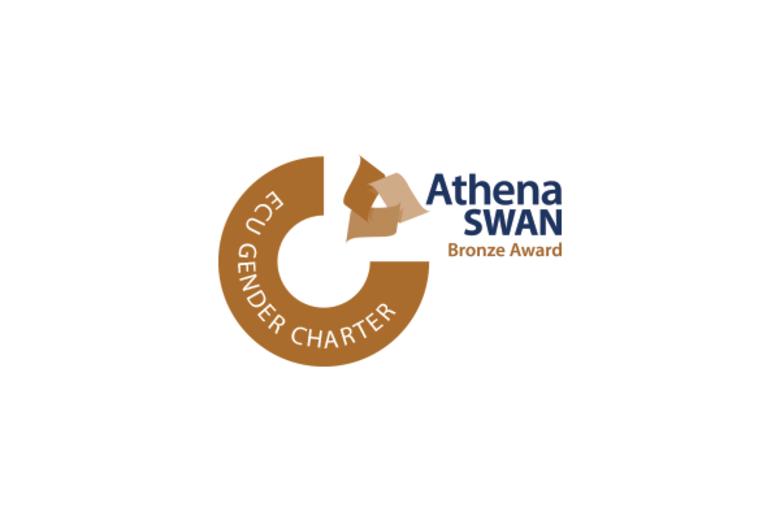 athena swan logo landing page