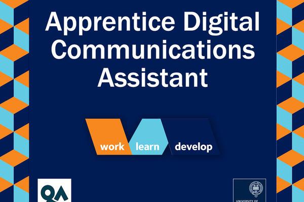 Apprentice Digital Communications Assistant, University of Oxford