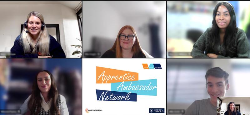 Apprentice Ambassadors 2021, University of Oxford