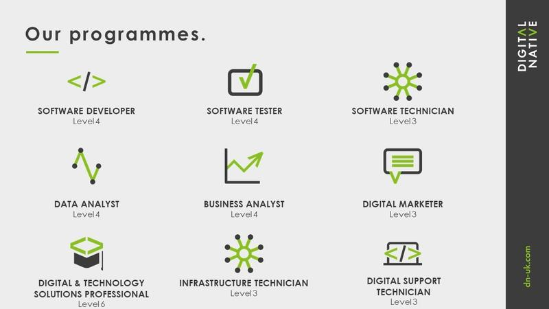 Digital Native Apprenticeship Programmes