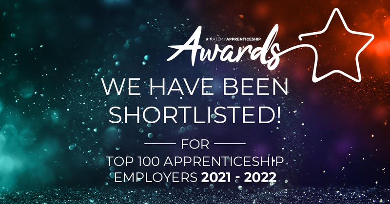 Rate My Apprenticeships top 100 apprenticeship employers table - shortlist badge University of Oxford
