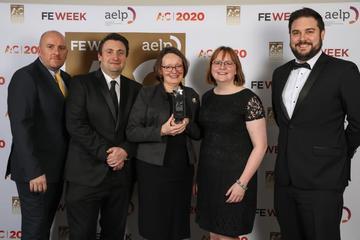 Abingdon and Witney College, Apprenticeship Provider winning an award