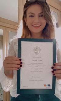 Daniela Cazan, Marketing Apprentice, SBS, University of Oxford